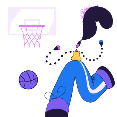 style Basketball player images in PNG and SVG | Icons8 Illustrations