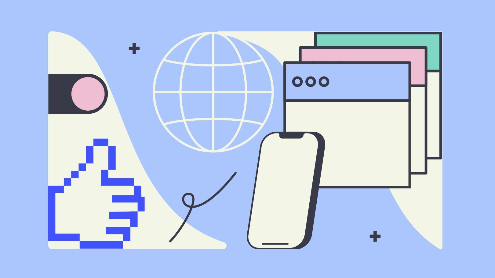 Imagem vetorial de Rede mundial de computadores estilo  em PNG e SVG | Ilustrações do Icons8