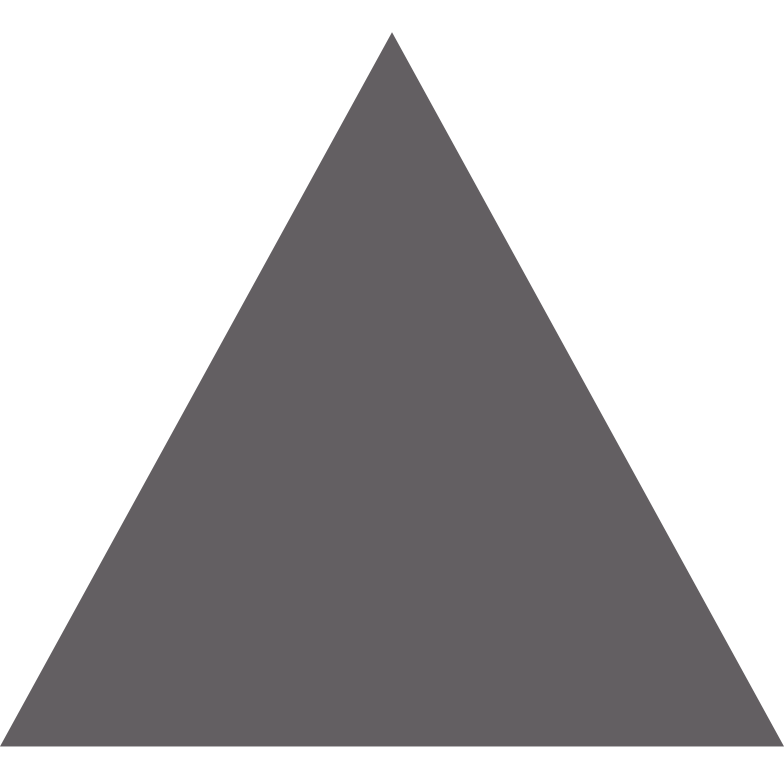 triangle grey Clipart illustration in PNG, SVG