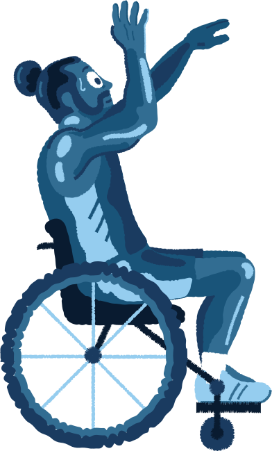 style wheelchair-man images in PNG and SVG | Icons8 Illustrations
