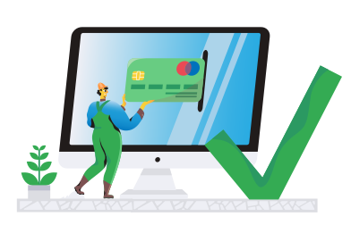 style Paiement traité images in PNG and SVG | Icons8 Illustrations