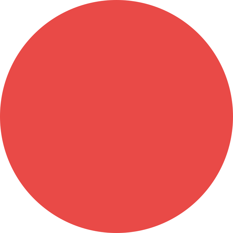 circle red Clipart illustration in PNG, SVG