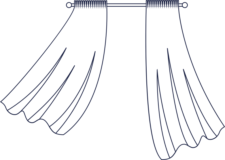 style curtains room line Vector images in PNG and SVG | Icons8 Illustrations