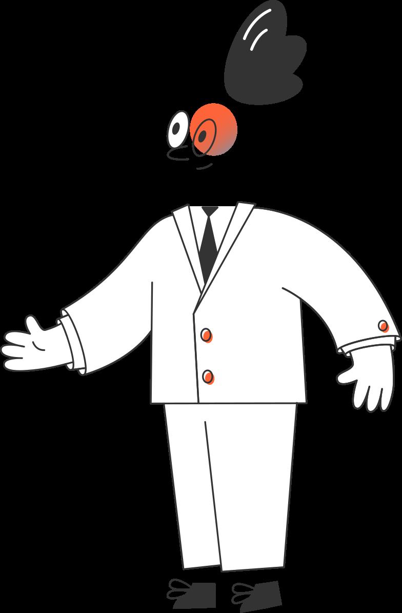Immagine Vettoriale uomo d'affari in PNG e SVG in stile  | Illustrazioni Icons8