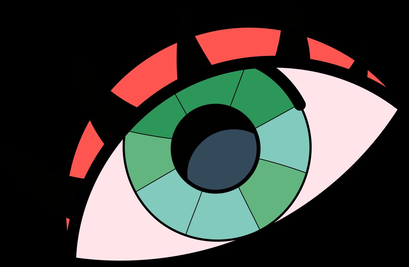 upgrade  eye Clipart illustration in PNG, SVG