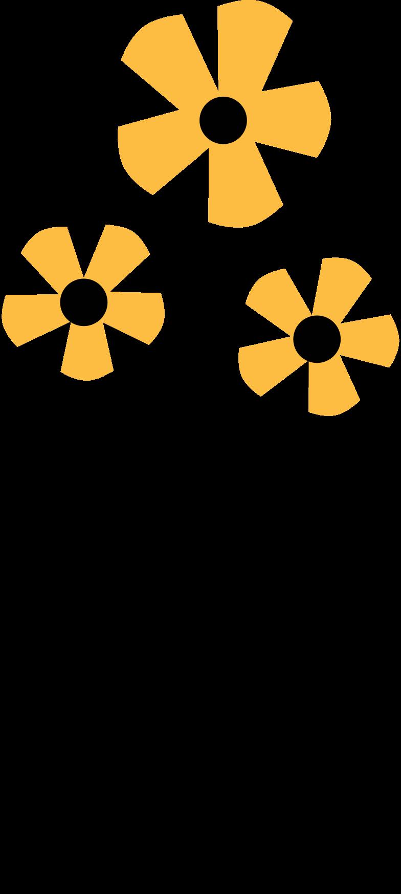 Illustration clipart flower aux formats PNG, SVG