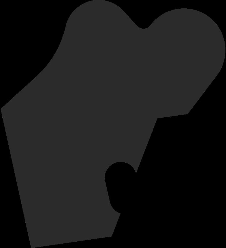 teased hair back Clipart illustration in PNG, SVG