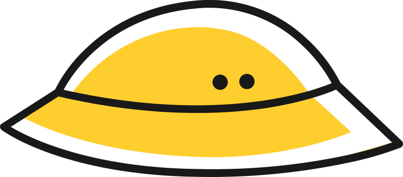 pith helmet Clipart illustration in PNG, SVG
