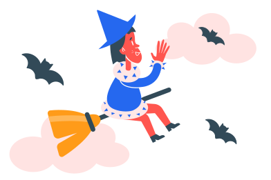 style Little witch images in PNG and SVG | Icons8 Illustrations