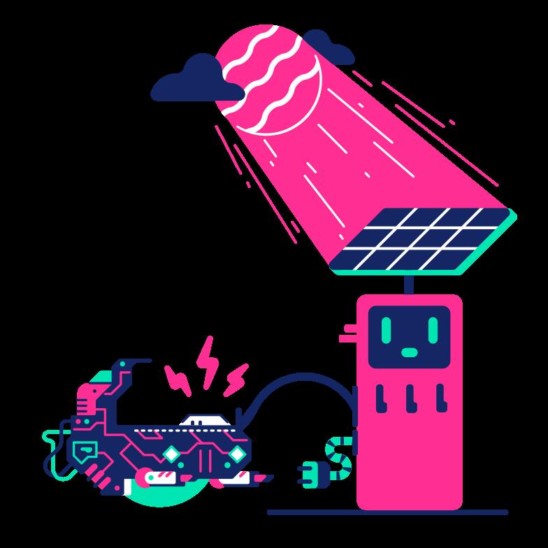 Eco-fuel Clipart illustration in PNG, SVG