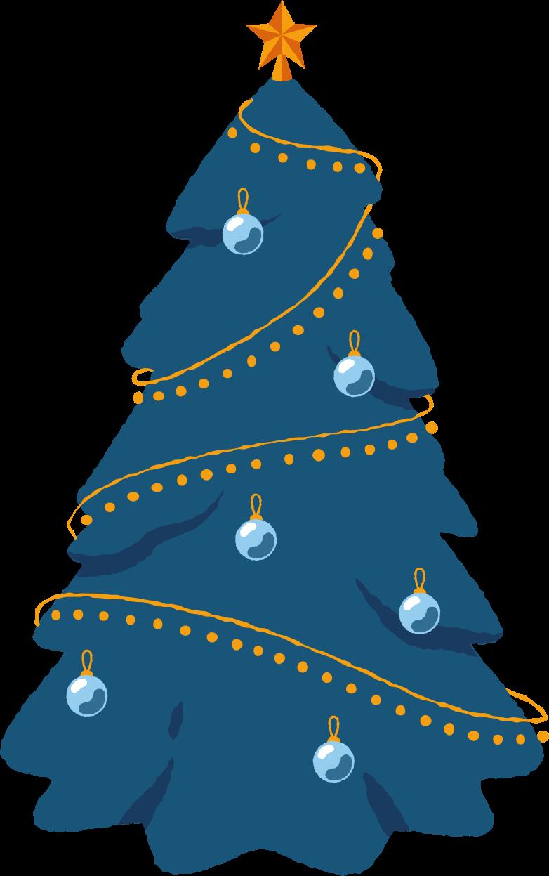 PNGとSVGの  スタイルの 飾られたクリスマスツリー ベクターイメージ | Icons8 イラスト