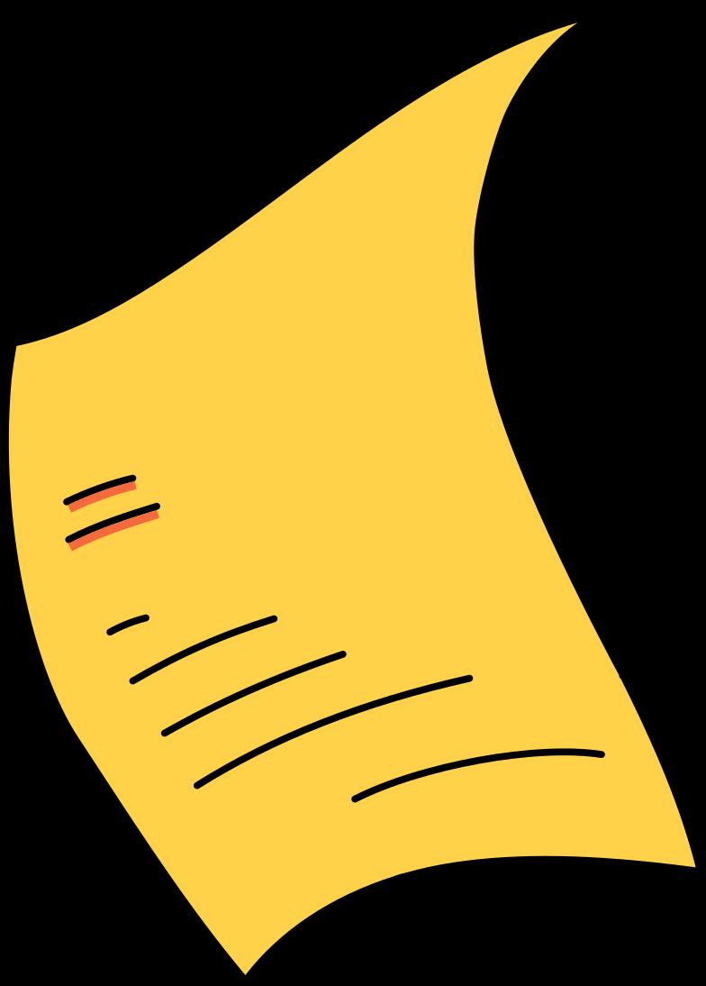 paper filled Clipart illustration in PNG, SVG