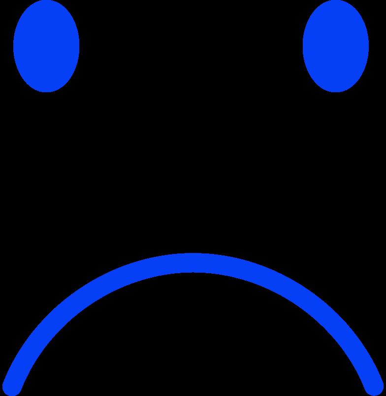 sadface Clipart illustration in PNG, SVG