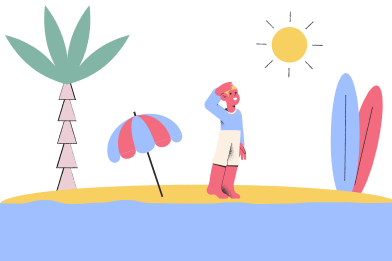 style Beach images in PNG and SVG | Icons8 Illustrations