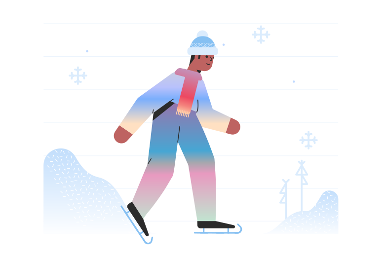style Skating alone Vector images in PNG and SVG | Icons8 Illustrations