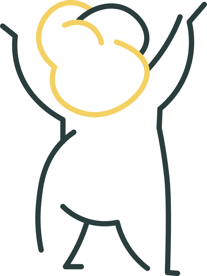 baby hands up Clipart illustration in PNG, SVG