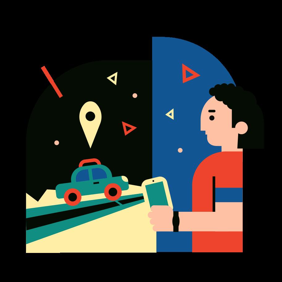 Order ride Clipart illustration in PNG, SVG