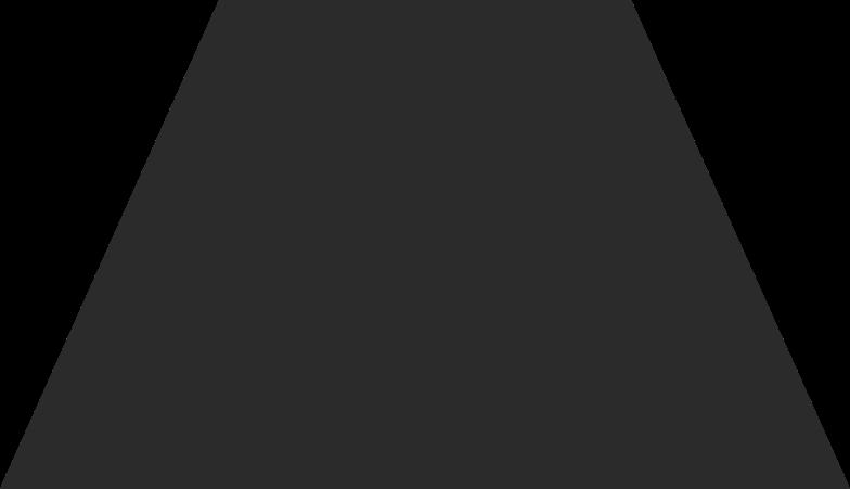 Illustration clipart Trapèze noir aux formats PNG, SVG