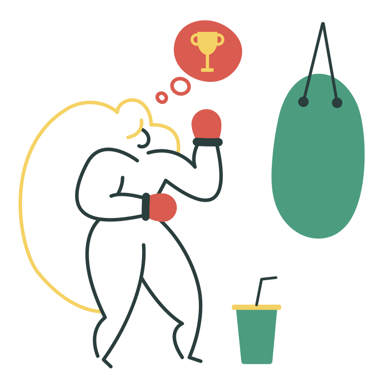 style Boxing Vector images in PNG and SVG | Icons8 Illustrations