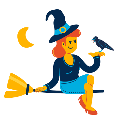style Witch images in PNG and SVG | Icons8 Illustrations