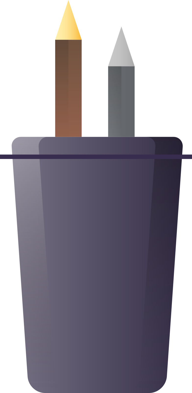 pencil-case Clipart illustration in PNG, SVG