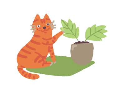 style  gardener cat images in PNG and SVG | Icons8 Illustrations