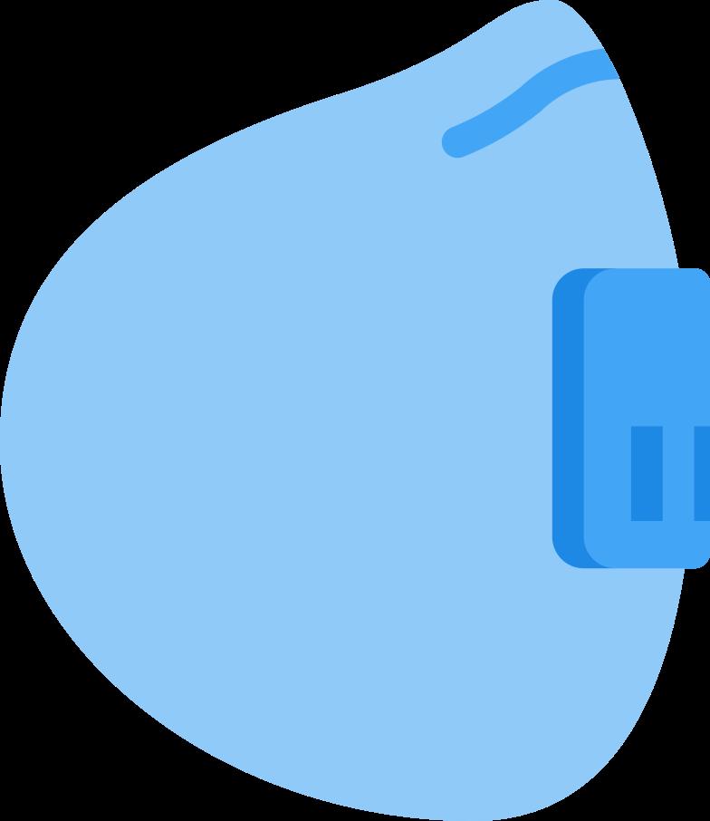 safety mask Clipart illustration in PNG, SVG