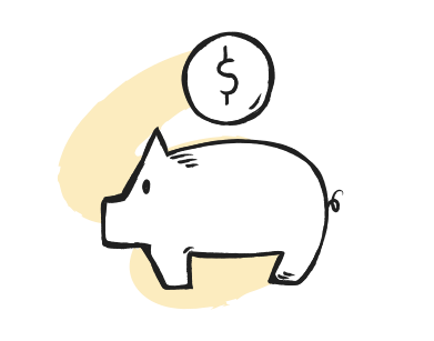 style geld sparen images in PNG and SVG | Icons8 Illustrations