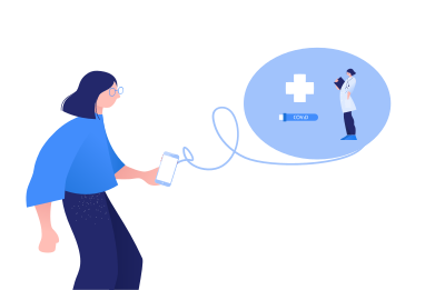 style Doctor sent me a message images in PNG and SVG | Icons8 Illustrations