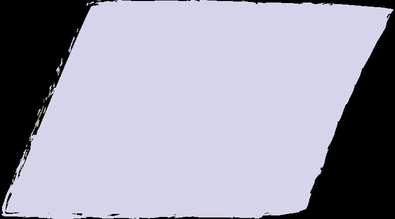 parallelogram-purple Clipart illustration in PNG, SVG