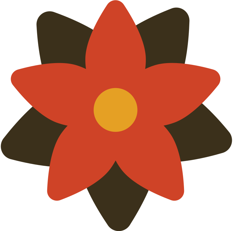 poinsettia Clipart illustration in PNG, SVG