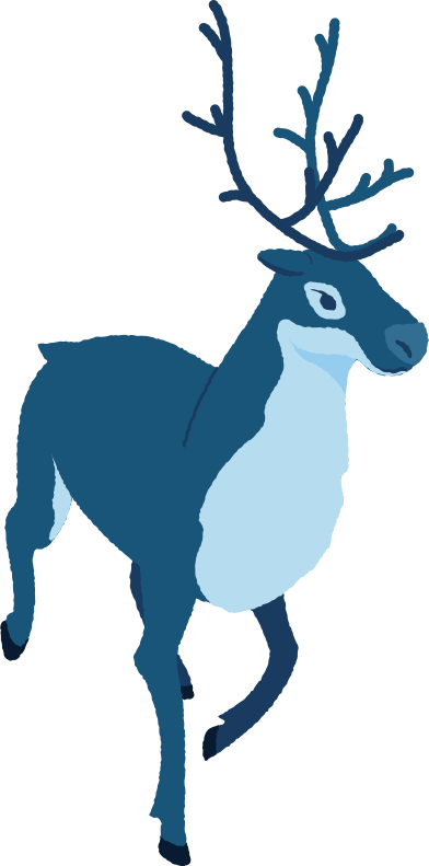 style reindeer running images in PNG and SVG | Icons8 Illustrations