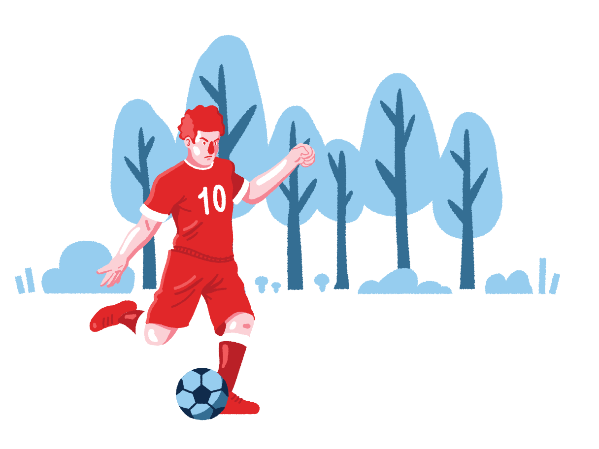 style Football player Vector images in PNG and SVG | Icons8 Illustrations