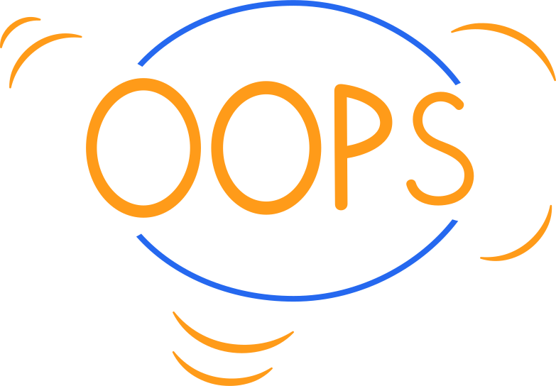 oops line Clipart illustration in PNG, SVG
