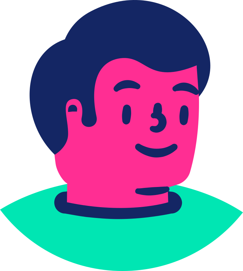 man face Clipart illustration in PNG, SVG