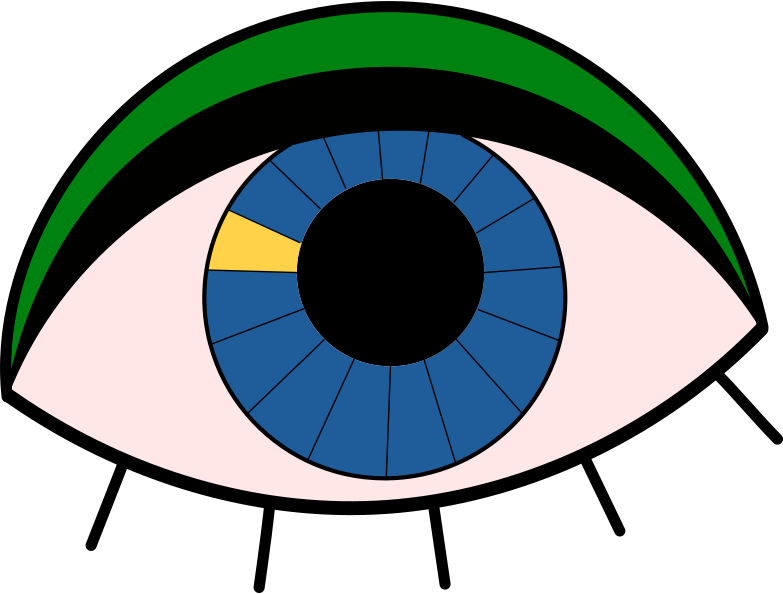 searching  eye Clipart illustration in PNG, SVG