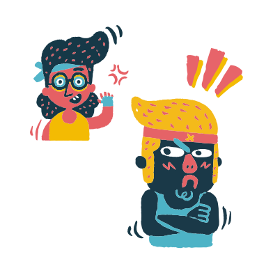 style Altercation images in PNG and SVG | Icons8 Illustrations