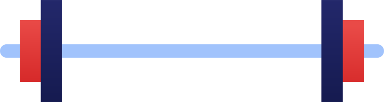 dumbbells Clipart illustration in PNG, SVG