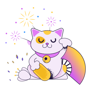 style Chinese cat images in PNG and SVG | Icons8 Illustrations