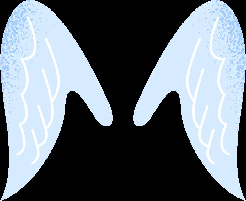 天使の翼 のPNG、SVGクリップアートイラスト