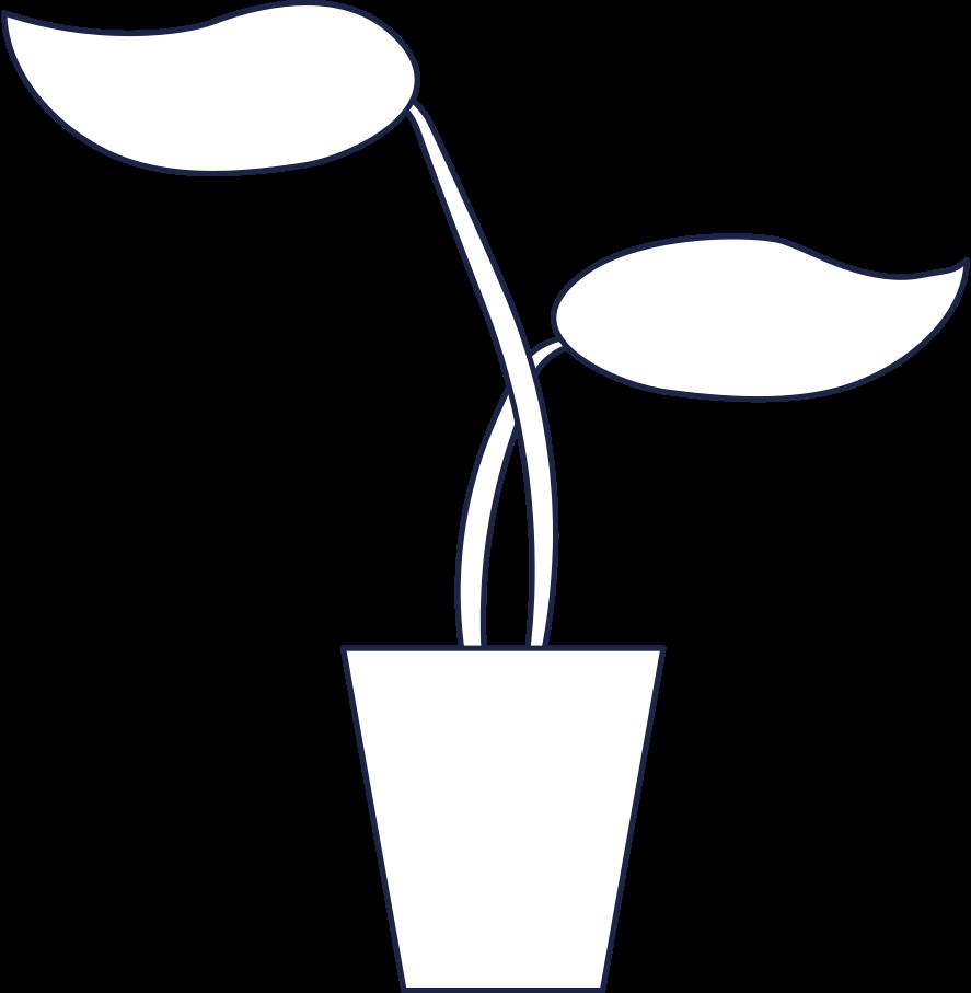 Ilustración de clipart de planta de oficina en PNG, SVG