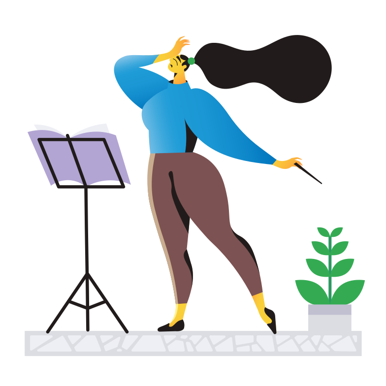 Conductor Clipart illustration in PNG, SVG