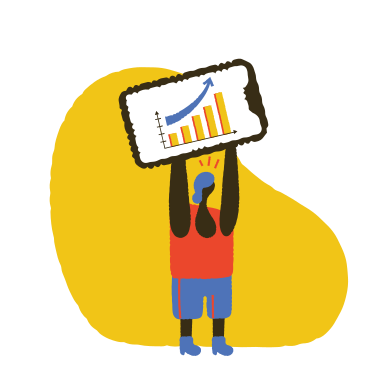 style Growth chart concept  images in PNG and SVG | Icons8 Illustrations