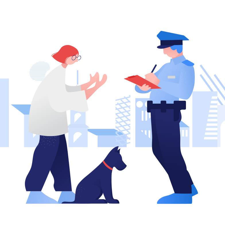 Perpetrator Clipart illustration in PNG, SVG
