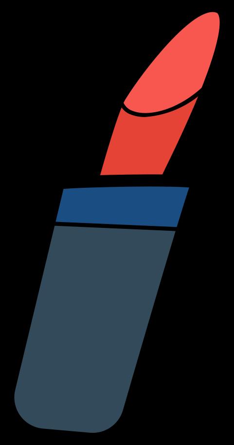 lipstick Clipart illustration in PNG, SVG