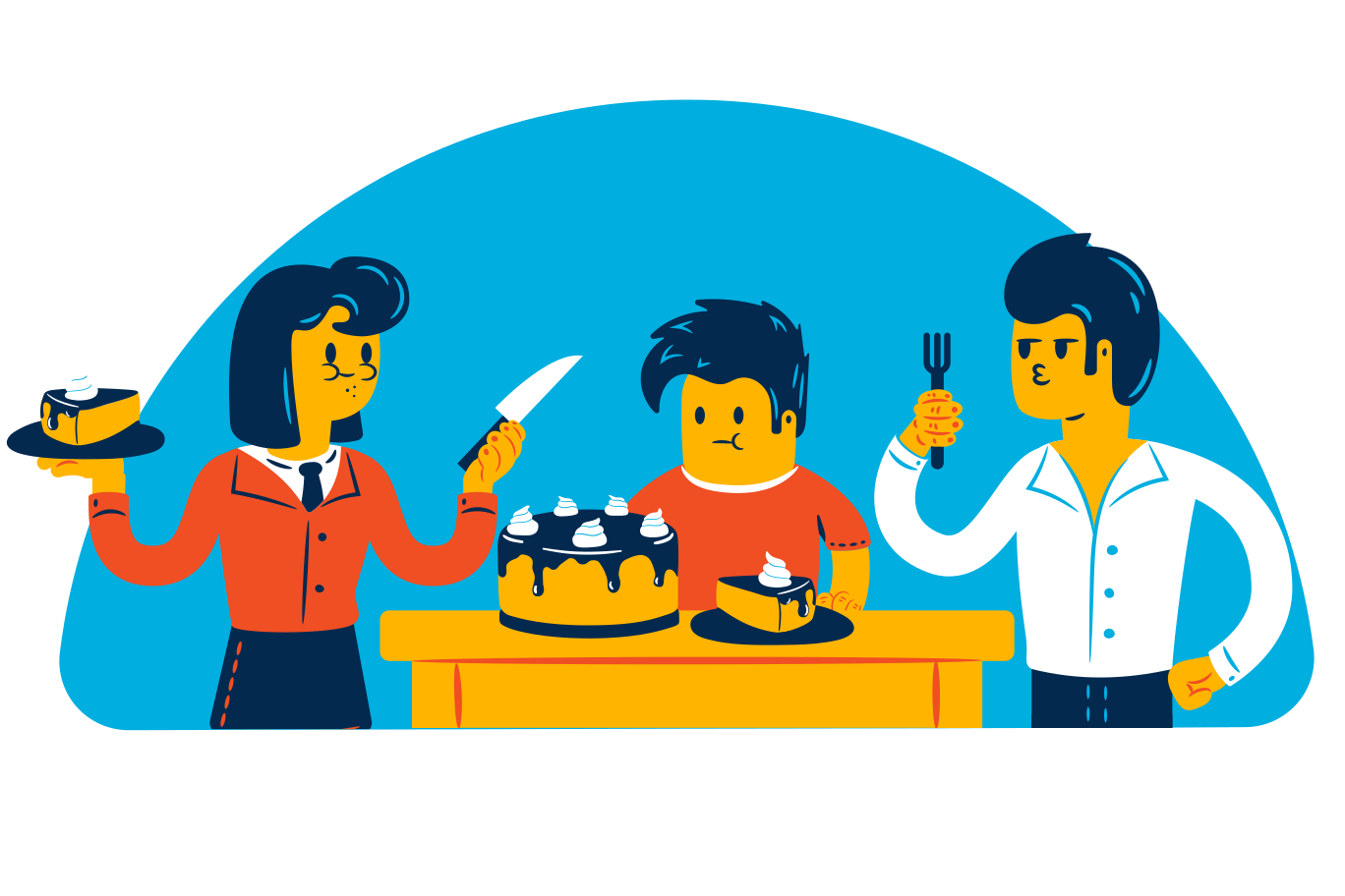 style Eating cake Vector images in PNG and SVG   Icons8 Illustrations