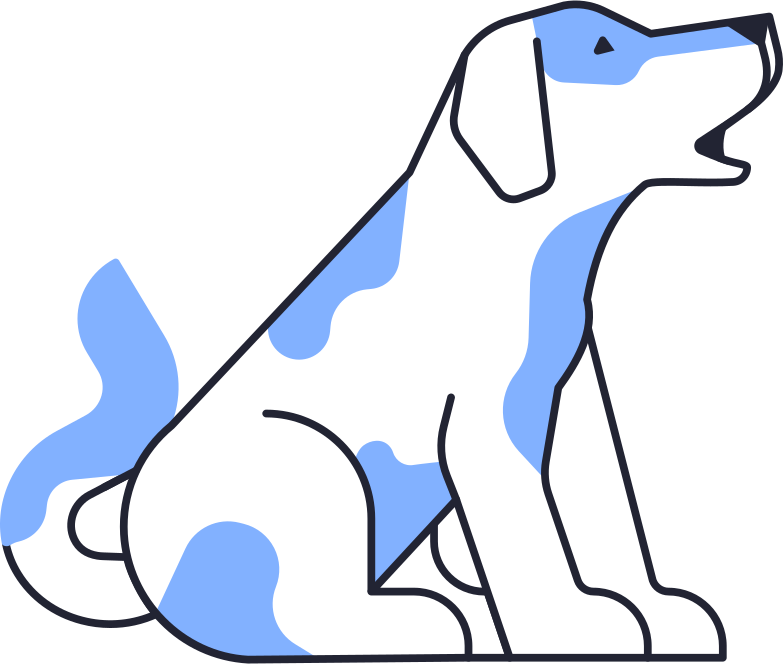 style barking dog Vector images in PNG and SVG | Icons8 Illustrations
