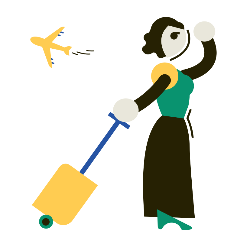 Late arrival Clipart illustration in PNG, SVG