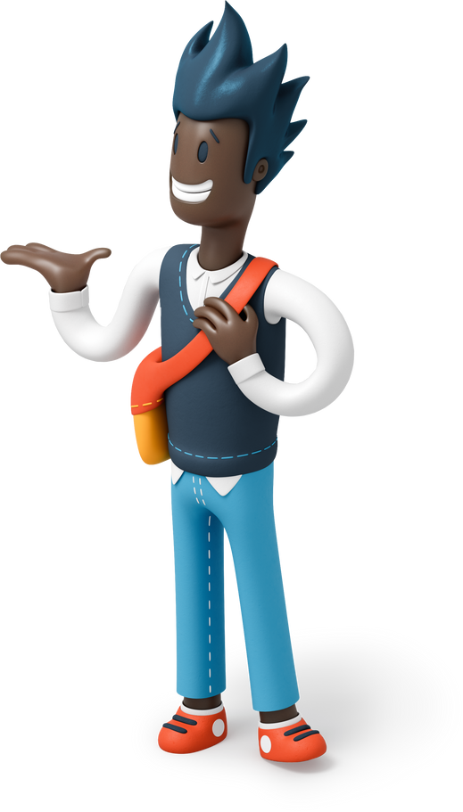man pointing hand Clipart illustration in PNG, SVG