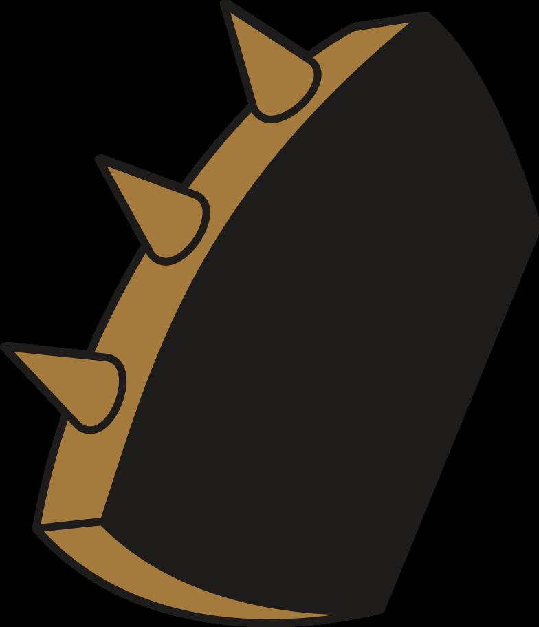brass knuckles Clipart illustration in PNG, SVG